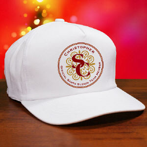 Personalized Santa Sleigh Team Hat