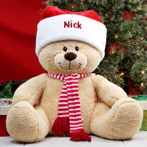 Personalized Christmas Teddy Bear 21""