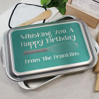 Personalized Happy Birthday Cake Pan