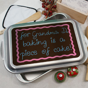 Personalized Piece of Cake Pan