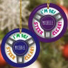 New Driver Personalized Christmas Ornament