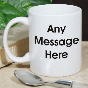Block Message Coffee Mug