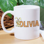 Carrot Name Personalized Coffee Mug