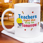 Light The Way Teacher Coffee Mug