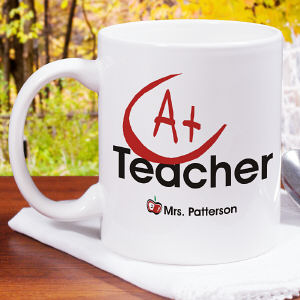 A+ Teacher Coffee Mug