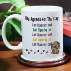 Personalized Puppy Dog Owner Coffee Mug