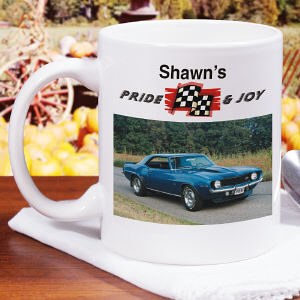 Pride and Joy Personalized Photo Coffee Mug