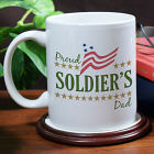 Proud of My Soldier... Personalized Military Ceramic Coffee Mug
