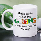 Bad Day Golfing Coffee Mug