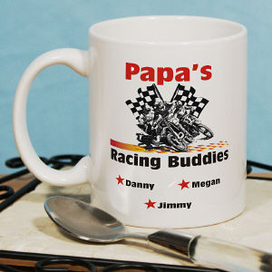 Dirt Bike Racing Buddies Coffee Mug