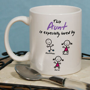 Personalized Especially Loved By Coffee Mug