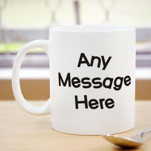 Crazy Message Coffee Mug