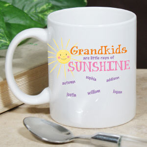 Personalized Little Rays of Sunshine Coffee Mug