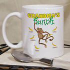 Personalized Monkey Bunch Mug