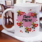 Bee Mine Hearts Coffee Mug