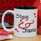 Personalized Couples Romantic Mug