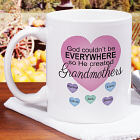 Personalized God Couldn't Be Everywhere Mug