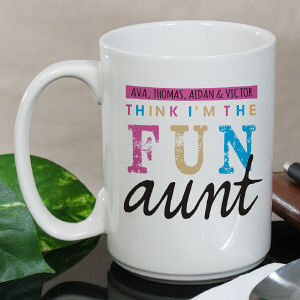 Personalized I'm the Fun One Mug