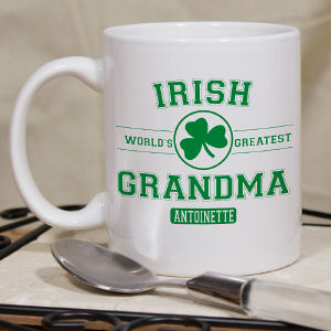 Personalized Irish Grandma Mug