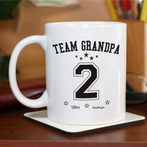 Personalized Team Dad Mug