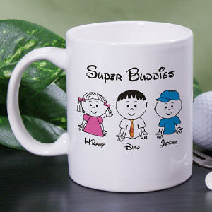 Super Buddies Coffee Mug