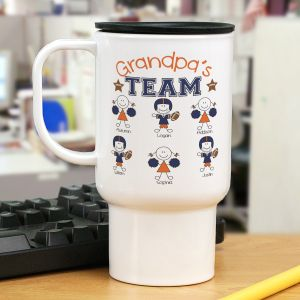 Personalized Football Team Mug