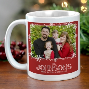 Personalized Christmas Photo Mug