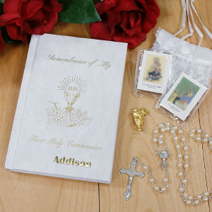 Personalized First Communion Gift Set