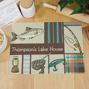 Personalized Fisherman Cutting Board 63123093
