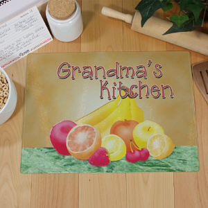 Personalized Kitchen Cutting Board