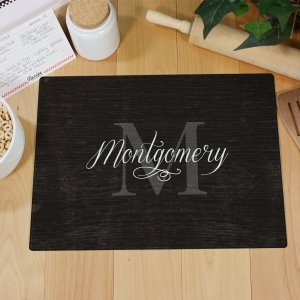 Family Name & Initial Cutting Board