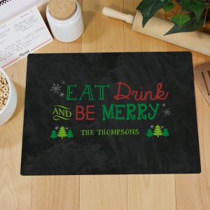 Personalized Merry Christmas Cutting Board 63181743