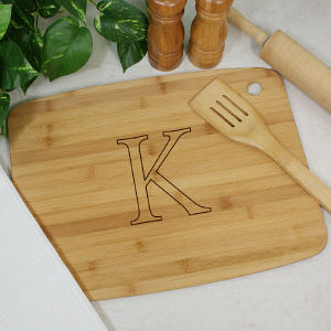 Engraved Monogram Classic Cutting Board