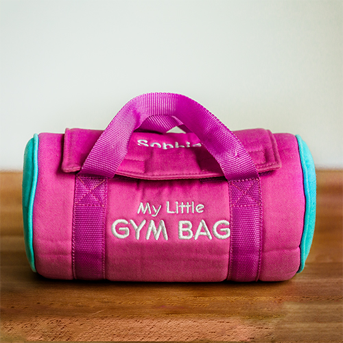 Personalized My Little Gym Bag | Unique Baby Gifts
