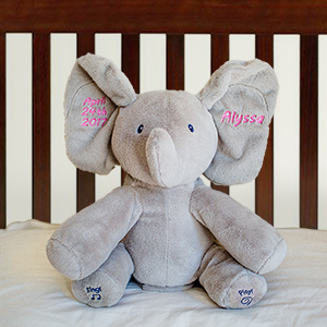 Personalized Flappy Plush Elephant | Personalized Stuffed Animals