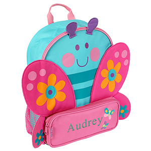 Personalized Sidekicks Butterfly Backpack | Personalized Kids Backpacks