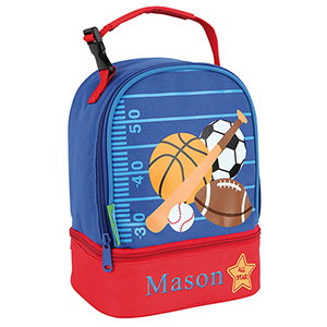Personalized Sports Lunch Pal | Personalized Lunch Boxes