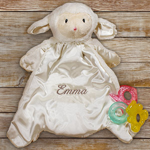 Personalized Baby Huggybuddy™ Blankie | Personalized Baby Gifts