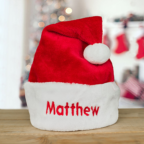 Embroidered Santa Hat | Personalized Santa Hats