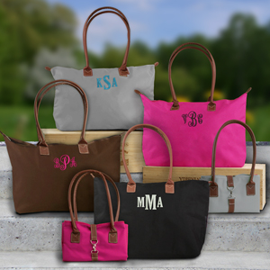 Embroidered Monogram Tote Bags | Monogrammed Tote Bags