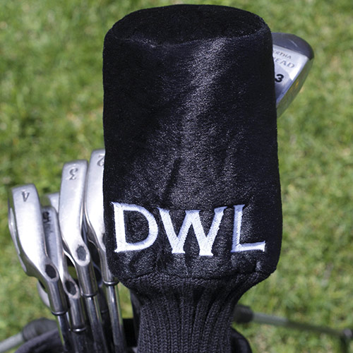 Embroidered Plush Golf Club Cover | Personalized Golf Gifts for Dad