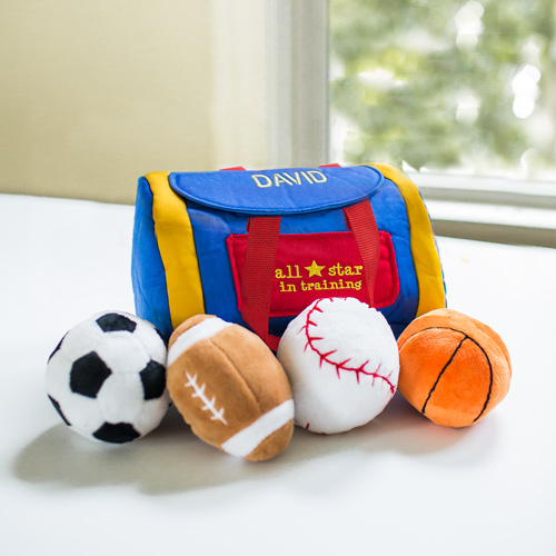 Embroidered Any Name All Star In Training Sports Bag | Personalized Baby Gifts