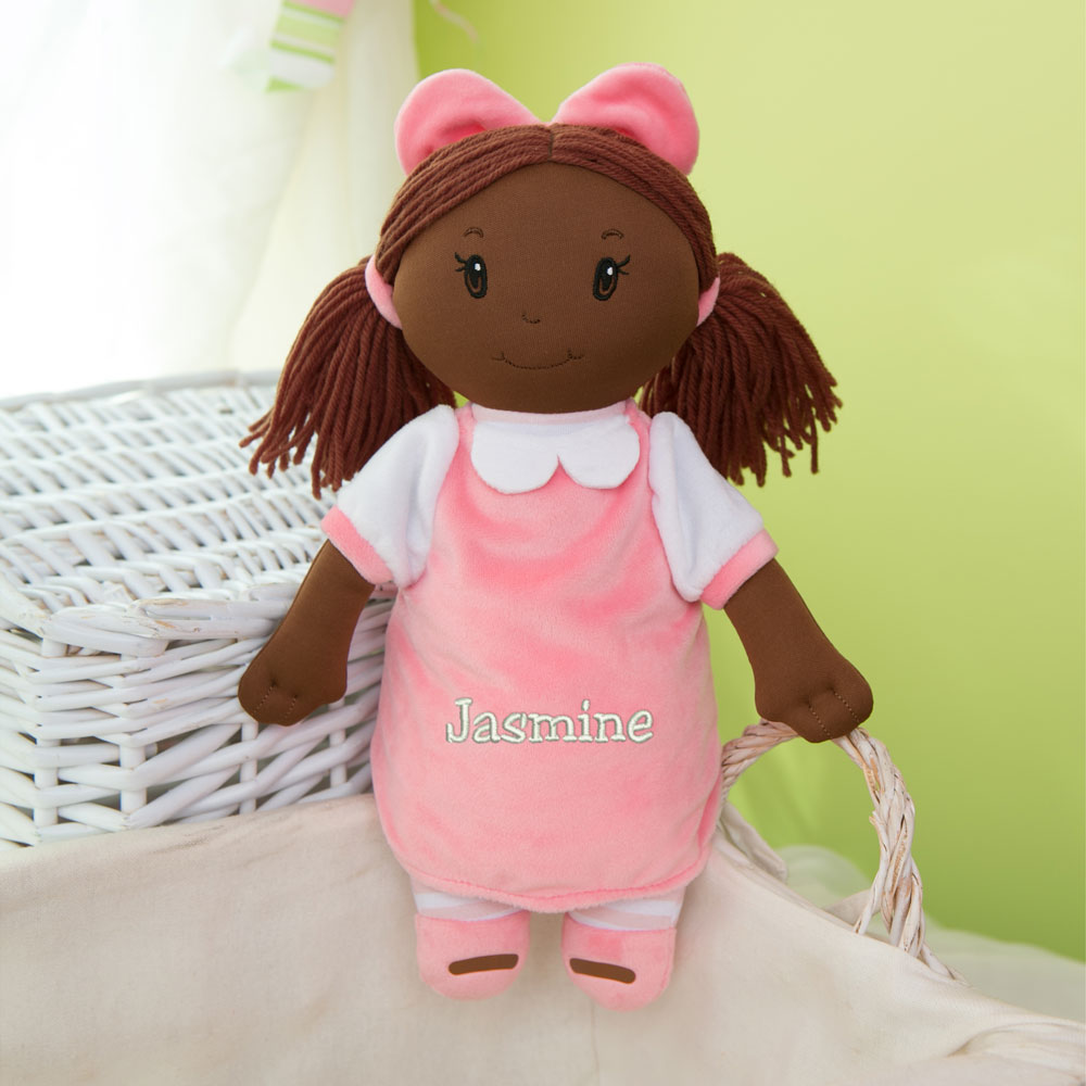 Embroidered Little Darlings Plush Dolly | My First Baby Doll