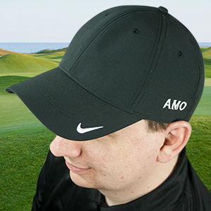 Embroidered Any Initials Nike Golf Hat | Golfing Gifts