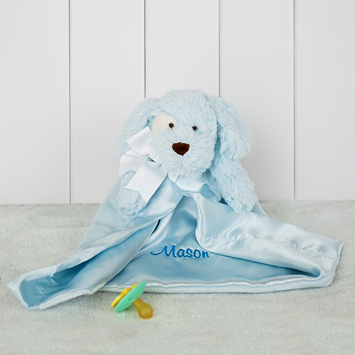 Embroidered Puppy Stuffed Animal For Baby | Customized Stuffed Animals