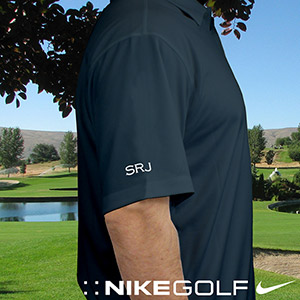 Embroidered Navy Monogrammed Nike Polo | Best Selling Father's Day Gifts
