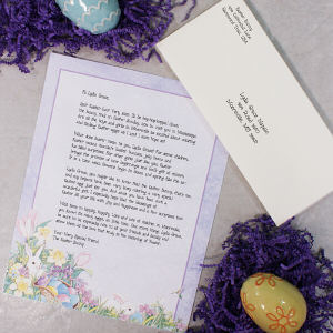 Personalized Letter From The Easter Bunny | Easter Gifts For Kids