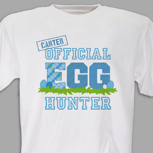 Personalized Easter T-Shirt for Kids