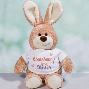 Somebunny Loves Me Personalized Bunny