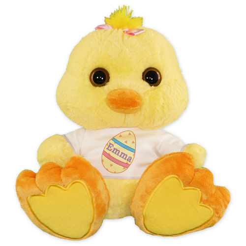 Personalized Easter Egg Chick AU08686-1537